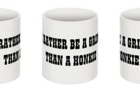 """I'd Rather Be A Gringo..."" Coffee Mug"