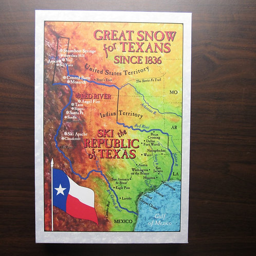Texas Ski Map- Red River!!