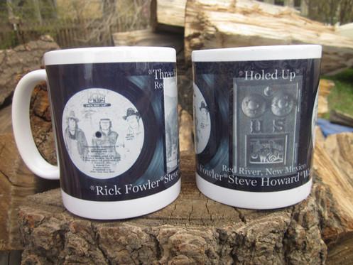 Set of (2) Three Faces West Mugs