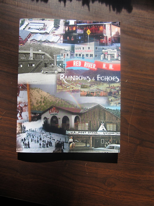 """Rainbows & Echoes"" Printed Postcard Book"