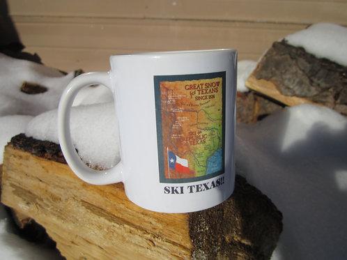 Coffee Mug- Ski the Republic of Texas!!
