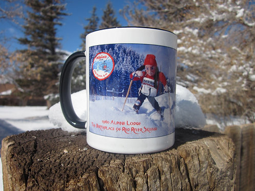 "#5 Alpine Lodge- ""Rainbows & Echoes"" Mug Collection"
