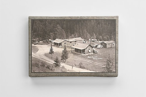 #114- 1940 Tall Pine Camp- Red River, New Mexico