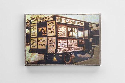 1920s Real Estate Sales Wagon