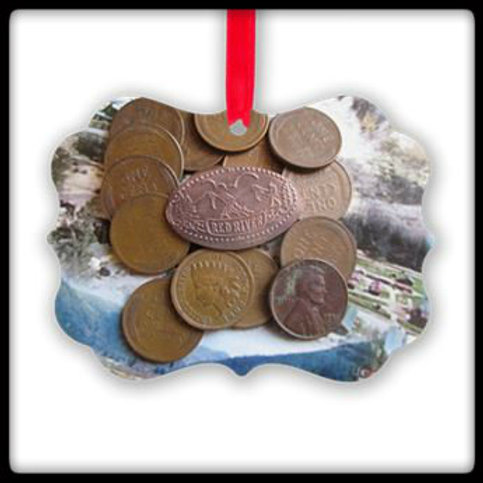 #39 Red River Mountain On A Penny