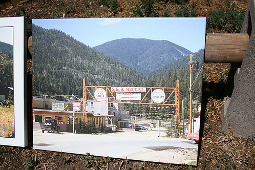 1960 Original Office of Red River Ski Area- Red River, New Mexico