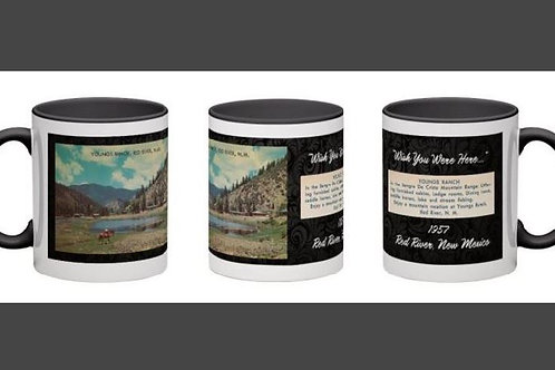 Young's Ranch 1957- WYWH Black Mug #53