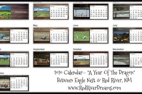 """A Year Of The Dragon""- 2021 Calendar"