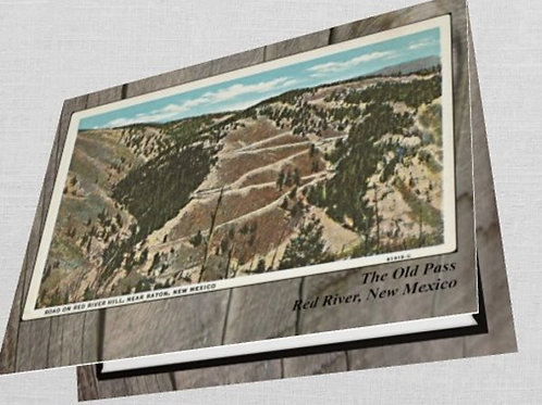 #1- (10) Old Red River Pass Greeting Cards