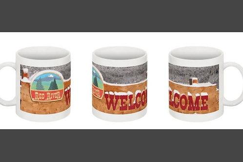 Snowy Welcome Coffee Mug