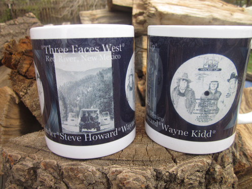 Set of (2) Three Faces West Mugs