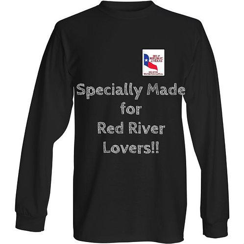 Republic of Texas Ski Map Tee- Ski Red River!!