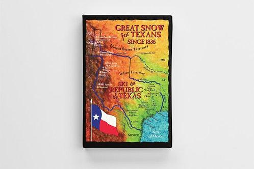 Texas Ski Map