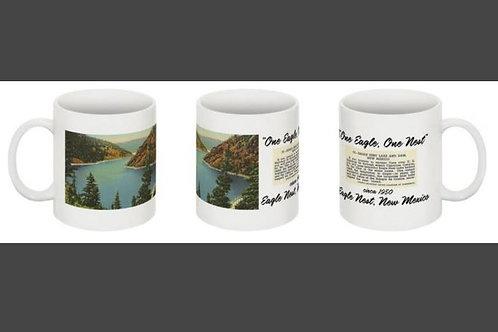 """Eagle Nest Lake & Dam circa 1950"""