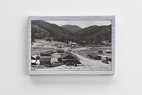 1938 Red River Views- Pioneer Canyon