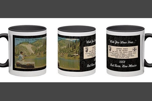 Young's Ranch 1958- WYWH Black Mug #73