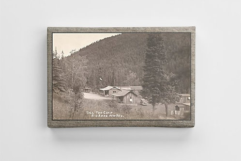#115- 1940 Tall Pine Camp- Red River, New Mexico