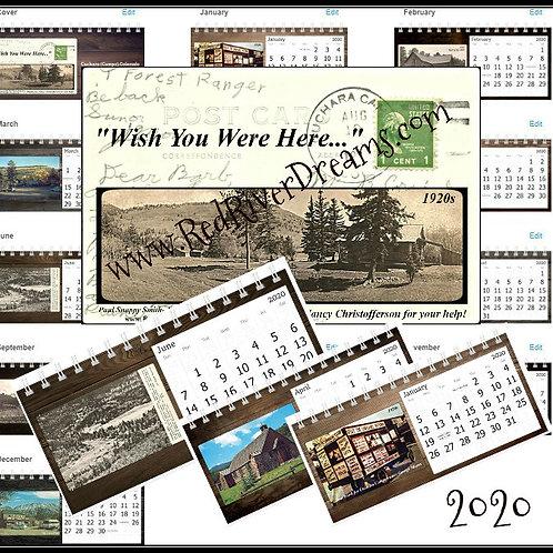 2020 Calendar-Cuchara (Camps), Colorado