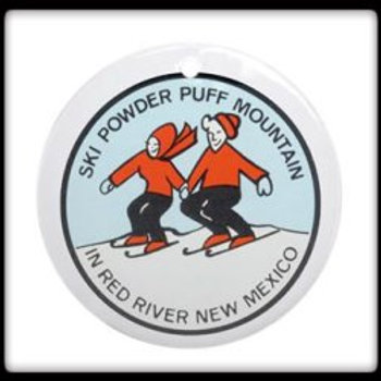 #18 Powder Puff Mountain Logo 1972