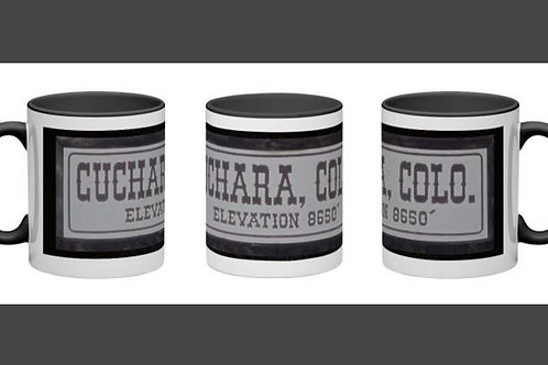Cuchara Sign Coffee Mug