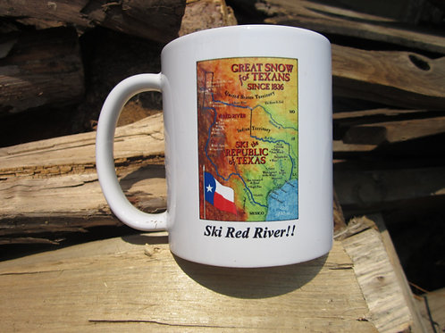 Coffee Mug- Ski Red River!! (Custom)