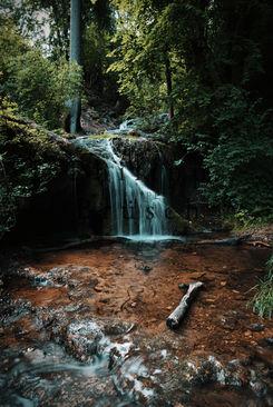 Wasserfall Kalktuffquelle