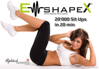 em shape x Health Beauty Lifestyle AG