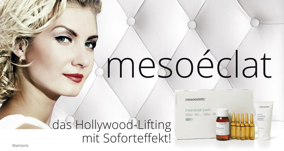 5x Mesoeclat das Hollywood VIP LIFTING ohne Skalpell!