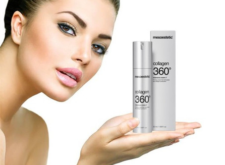Die richtige Hautpflege ab 30!  Die straffende Lösung von mesoestetic©: COLLAGEN 360°