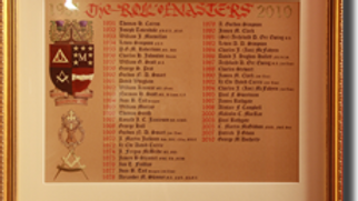 The Masters Roll Board 1951 – 2010 (Miniature)