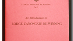 Lodge Canongate Kilwinning No.2 – Historical Introduction