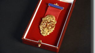 Lodge Canongate Kilwinning No.2  Hallmarked Silver Gilt Members' Jewel
