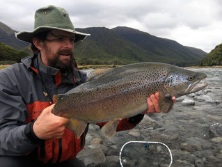 New Zealand Mouse-Eating Trophy Trout