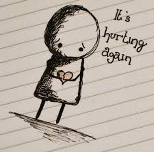 Carrying the hurt