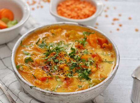 Vegan Mulligatawny Style Soup
