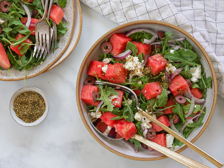Za'atar Watermelon Salad