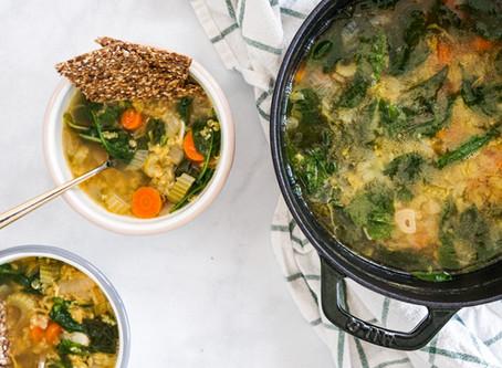 Beer & Jalapeno Lentil Soup
