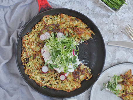 Giant Latke (Potato Pancake)