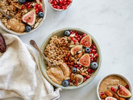 Barley Porridge with Date Caramel
