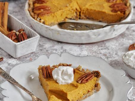 No-Bake Vegan Pumpkin Pie