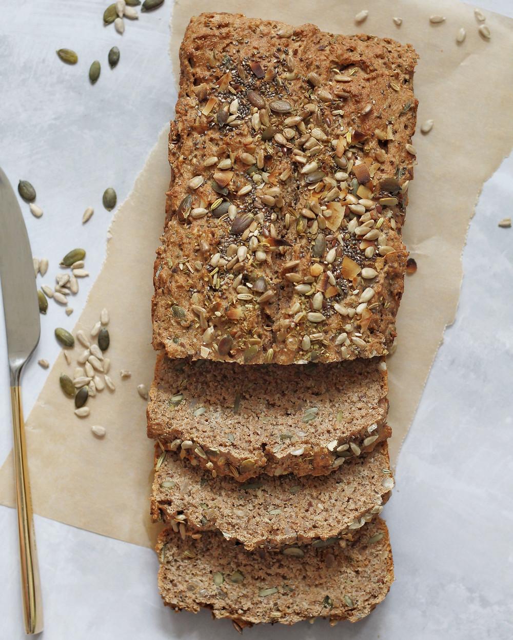 seeded beer bread