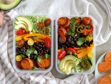 Sweet Potato Black Bean Burrito Bowl