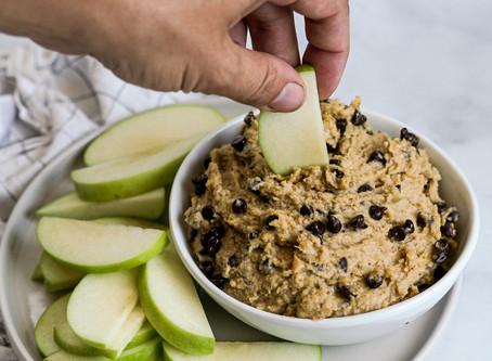 Edible Chickpea Cookie Dough Dip