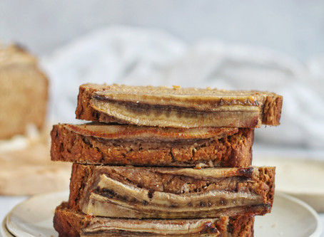 Sugar Free Buckwheat Banana Bread