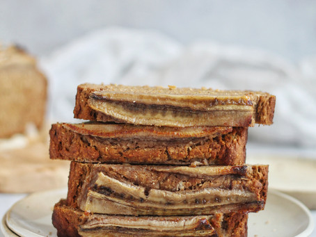 Sugar Free Buckwheat Banana Bread