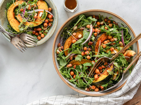 Moroccan Spiced Squash Salad