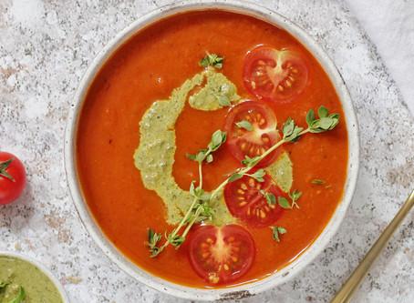 Vegan 5-Tomato Soup