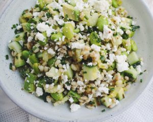 Green Goodness Barley Salad