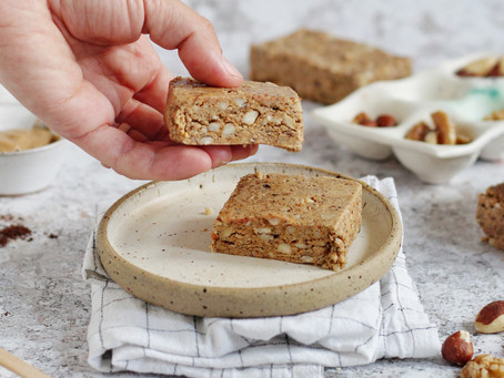 Low Carb Coffee Protein Bars