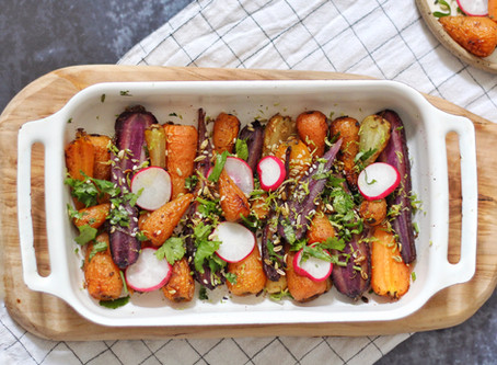 Spiced Carrot Salad